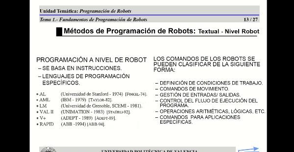 12626 Robotica (GIM) Tema 5 (Parte 3)