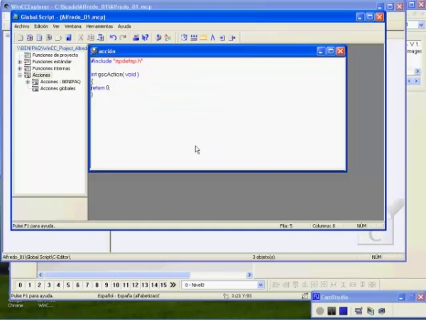 Creacion de Scripts en lenguaje C