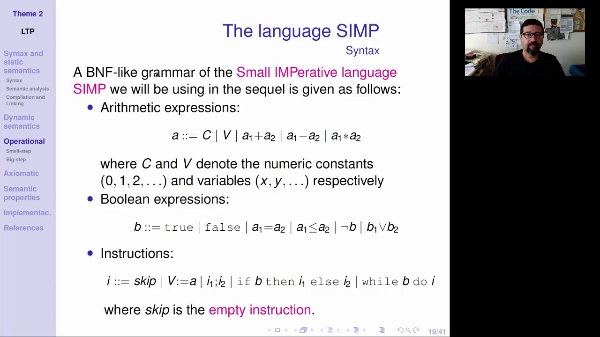 LTP - Unit 2 - The SIMP language
