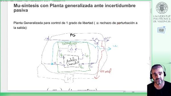 mu-síntesis con incertidumbre pasiva: ejemplo circuito RC con fugas (Matlab)