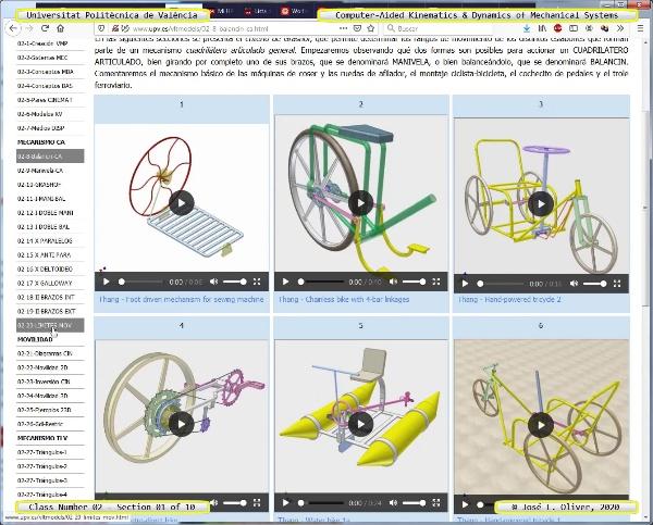 Mecánica y Teoría de Mecanismos ¿ 2020 ¿ MM - Clase 02 ¿ Tramo 01 de 10
