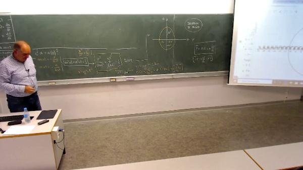 Física 1. Lección 2. Ecuación circunferencia y elipse a partir de identidad trigonométrica fundamental