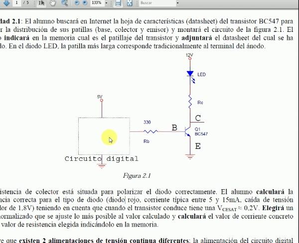 Simulación Práctica BJT (BC547) con el LTspice IV