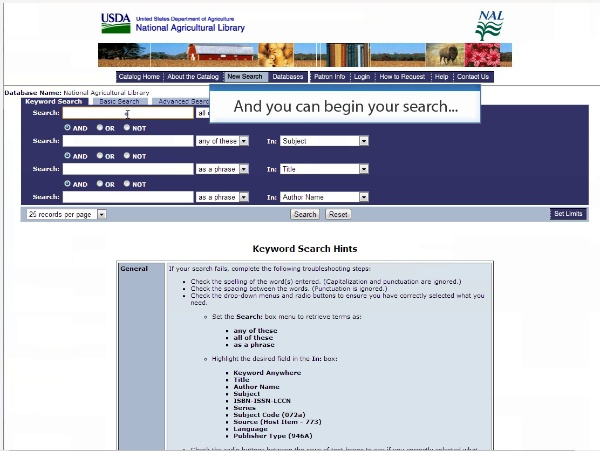 Polibuscador. How to Find the Databases!
