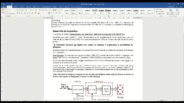 Electrónica Digital. Práctica 4. Introducción al frecuencímetro.