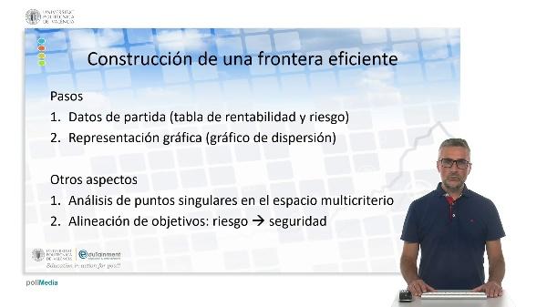 Construcción de una frontera eficiente