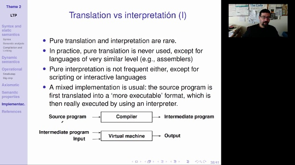LTP - Unit 2 - Implementation of programming languages