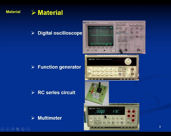 Electricity Lab: 3.-Capacitor- video 1