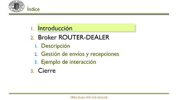 ZeroMQ: Broker ROUTER-DEALER