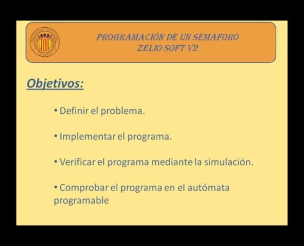 Programación de un Semaforo