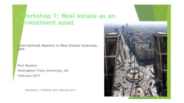 CRE Investment 02.02.17