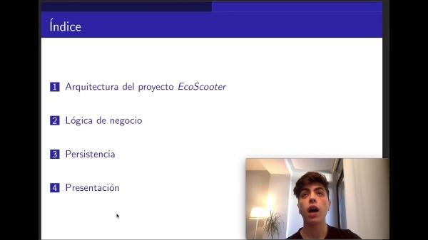 Proyecto ISW ecoScooter - arquitectura en capas