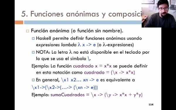 LTP. Tema 3. Funciones anónimas y composición de funciones
