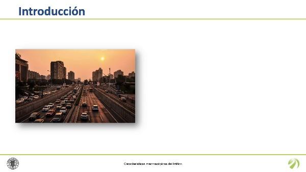 Características macroscópicas del tráfico