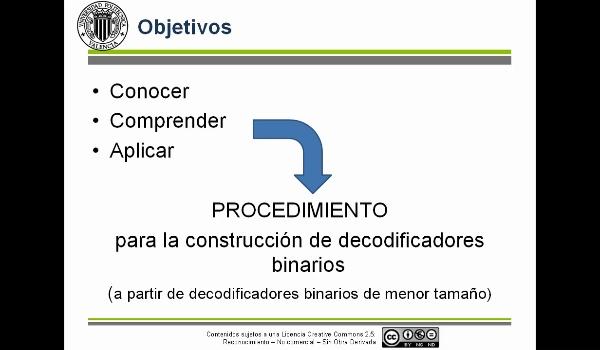 Composición de decodificadores: Ejemplo