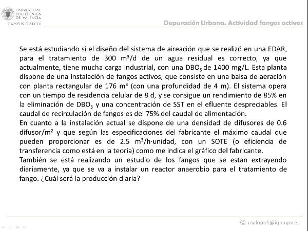 Resolución Actividad Reactor Biológico