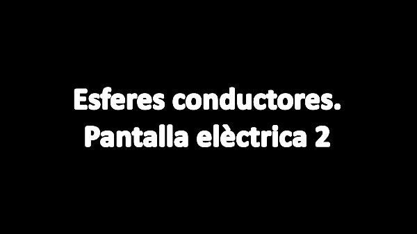 T1E: 11 Conductors esfèrics 2 V