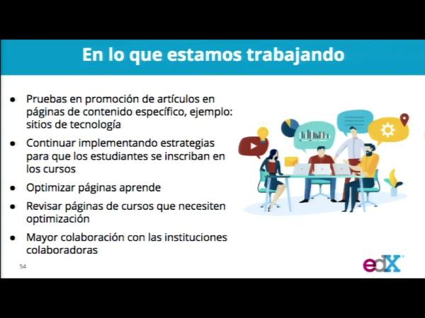 SPOC Gestión de MOOC. Marketing de edX. Futuros trabajos