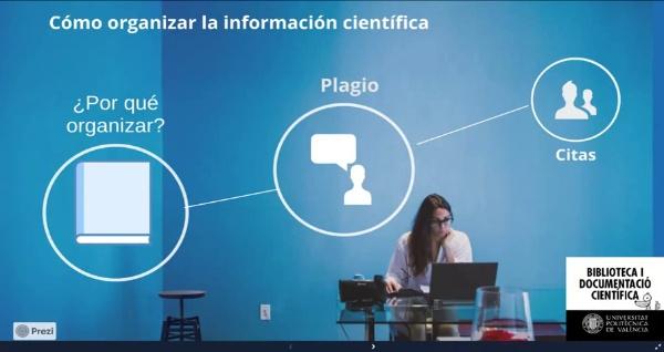 Cómo organizar la infromación científica