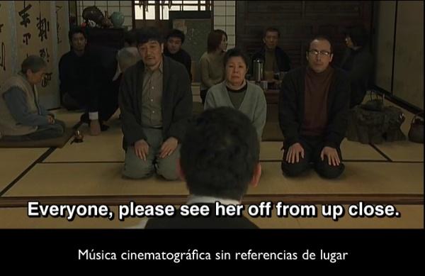okuribito musica cinematografica en escena japonesa