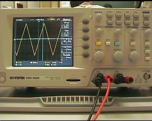 Visualización de ondas con el osciloscopio