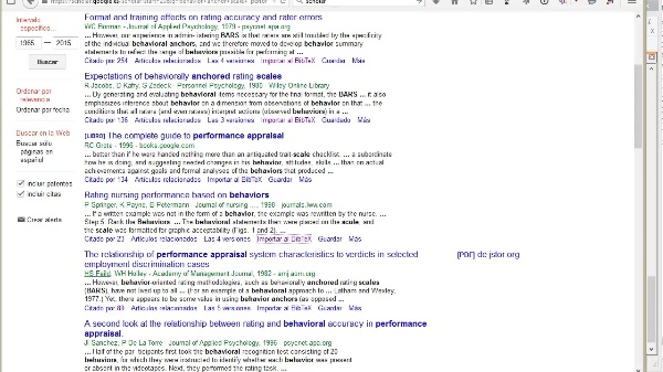 MOOC SLR Filtering references by title and abstract in google