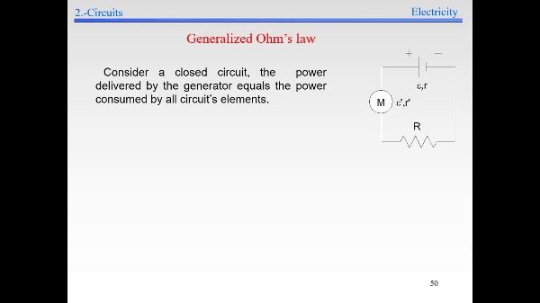 Elec-3-Electrokinetics-S50-Generalized Ohm