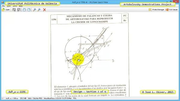Creación Virtual Mecanismo a-z-1196 con Solidworks - 3 de 6