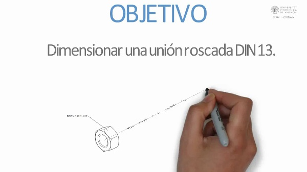 Roscas Métricas -  DIN 13