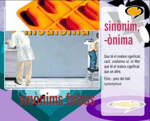 Sinónims falsos (2)