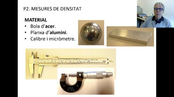 Mesura de densitat V