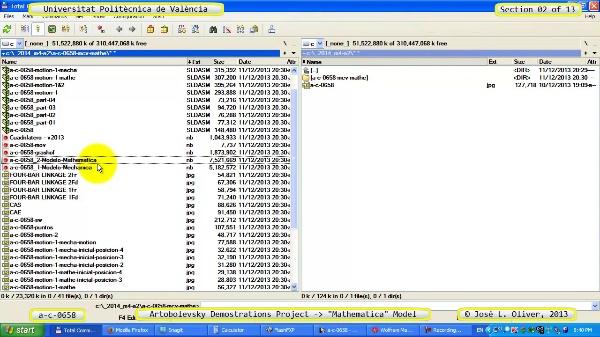 Solución Cinemática Simbólica a_c_0658 con Mathematica -B- 02 de 13