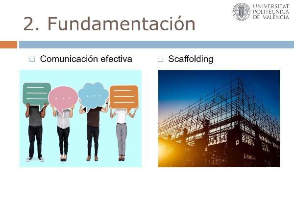 Comunicación Efectiva a través del `Scaffolding¿ en el Aprendizaje en Línea
