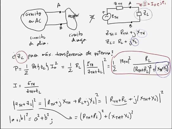 Teoría de Circuitos 1. Lección 6. 7-2 Adaptador de impedancias