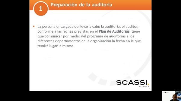 SSC - ISO 27001 - 4. Auditoría de seguridad