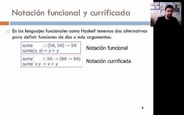 Programación funcional: aplicaciones parciales
