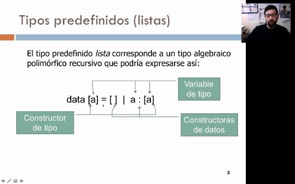 Programación funcional: el tipo lista