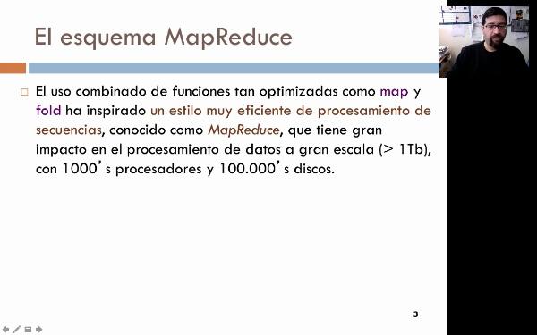 El esquema MapReduce