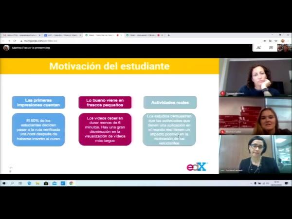 SPOC Gestión de MOOC. Diseño instruccional motivación del alumno