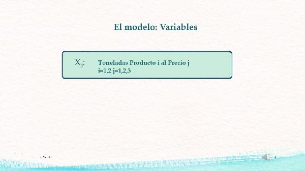 PROGRAMACIÓN ENTERA: Costes no lineales/dependen del tamaño del pedido