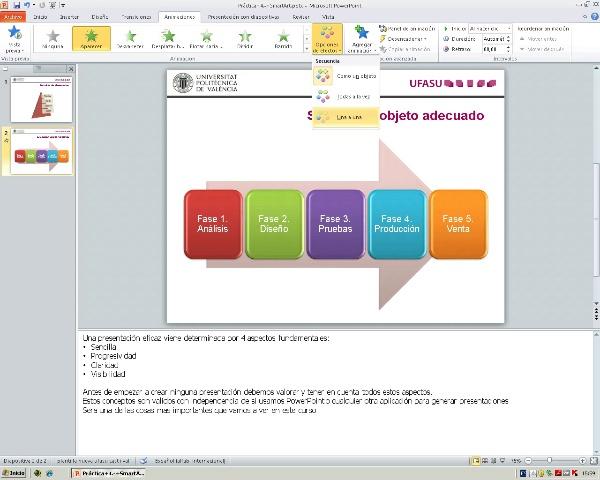 Powerpoint. Tarea 4. SmartArt