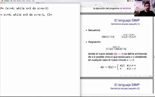 LTP. Tema 2.3.6. Semántica operacional de paso pequeño (small-step): ejemplo