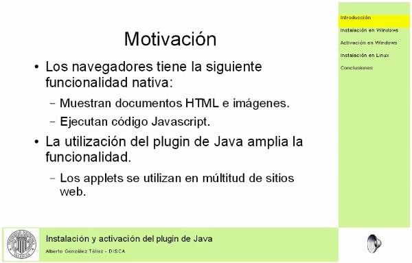 Java Plugin