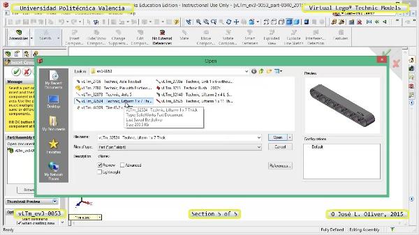 Creación Virtual Modelo Lego Technic - Isogawa ¿ ev3-0053 ¿ 5 de 5