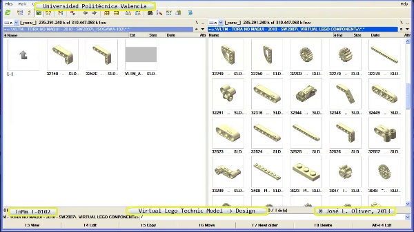Creación Virtual Modelo Lego Technic - Isogawa - T-0102 ¿ no audio