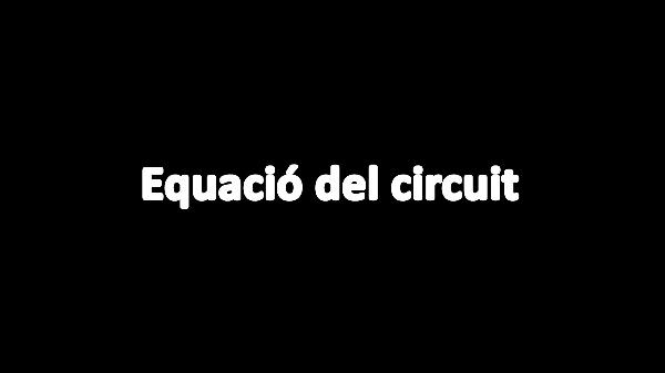 T3E: Equació del circuit V