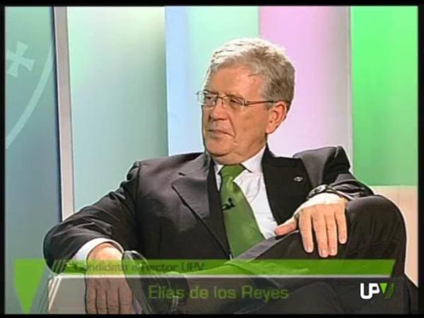 Entrevista en la televisión de la UPV