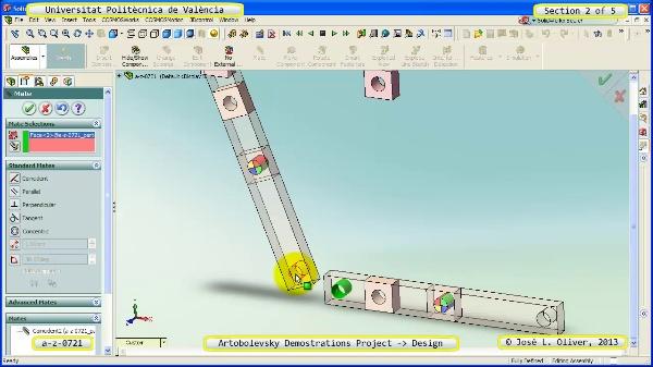 Creación Virtual Mecanismo a_z_0721 con Solidworks - 2 de 5