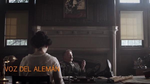 Análisis Diacrónico de Voz Superpuesta en una escena de Watchmen