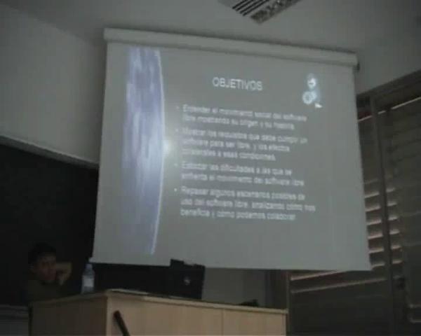 Seminario Alternativas Libres (4 Octubre 07) - PoLinuX